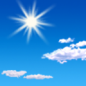 Today: Sunny, with a high near 46. West wind 3 to 6 mph.