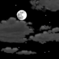 Saturday Night: Partly cloudy, with a low around 29. Calm wind becoming northwest 5 to 8 mph after midnight.