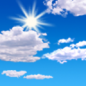 Monday: Mostly sunny, with a high near 44.